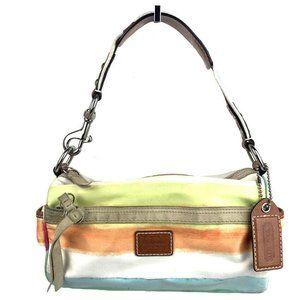 Coach 10383 Handbag Hamptons Watercolor Striped